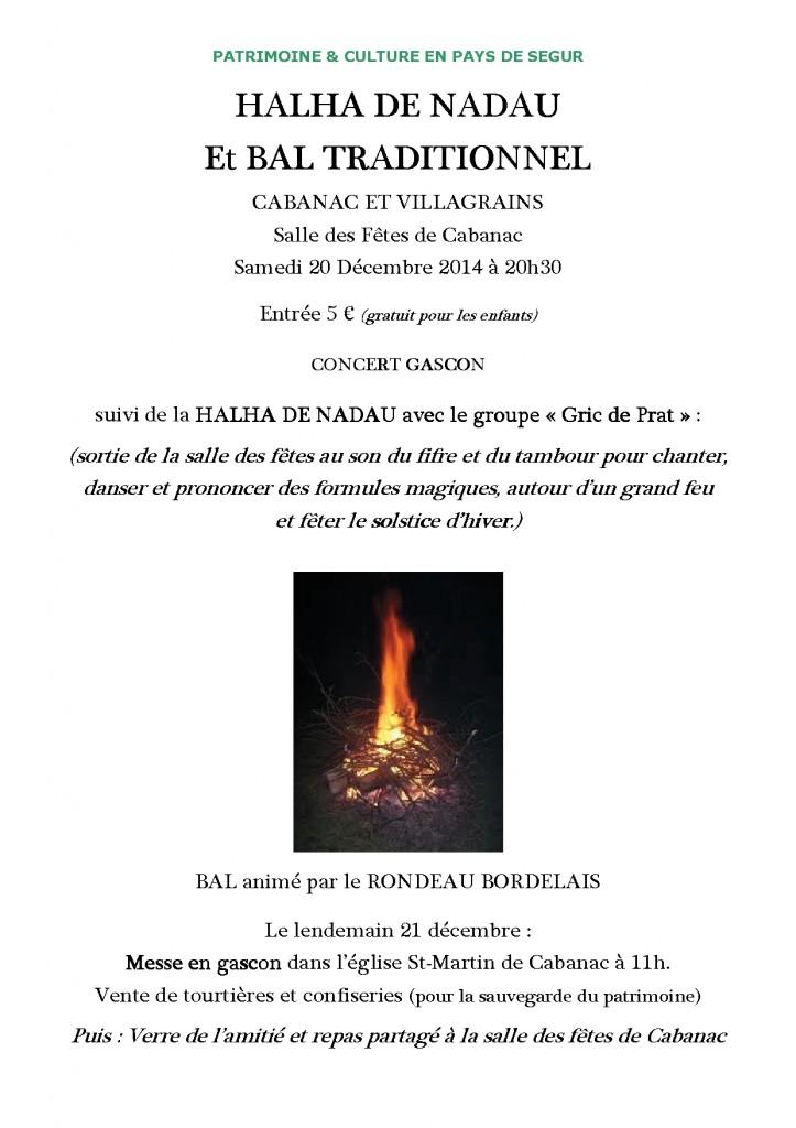 Affiche HALHA DE NADAU