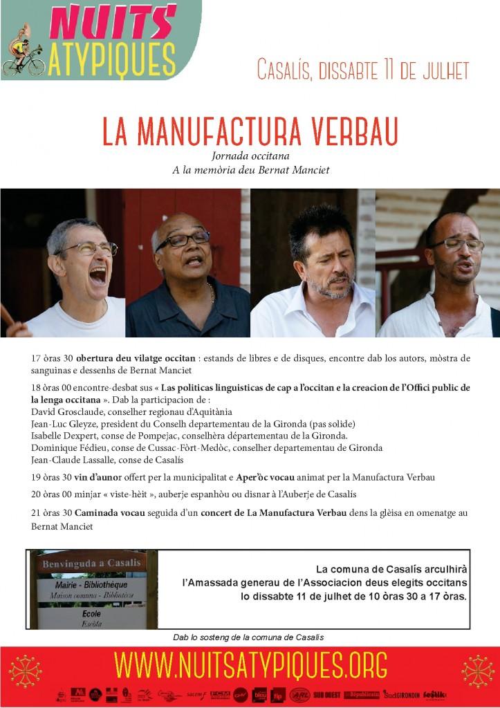 Jornada occitana dissabte 11 de julhet Casalis