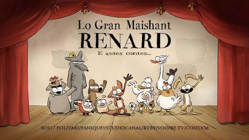 Projection du film d'animation « Lo gran Maishant Renard »