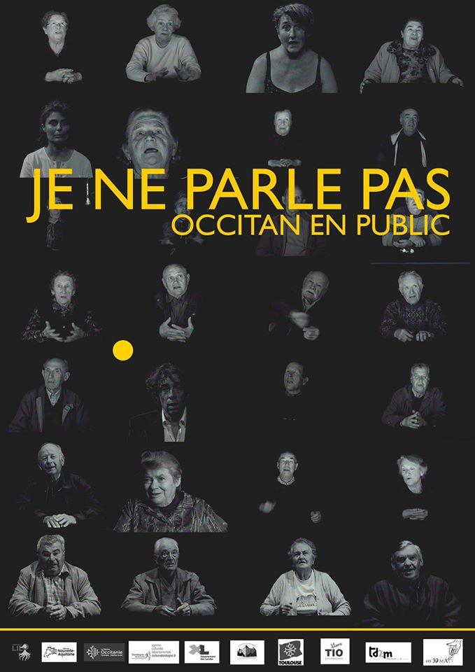 Spectacle «Je ne parle pas occitan en public» à Bordeaux