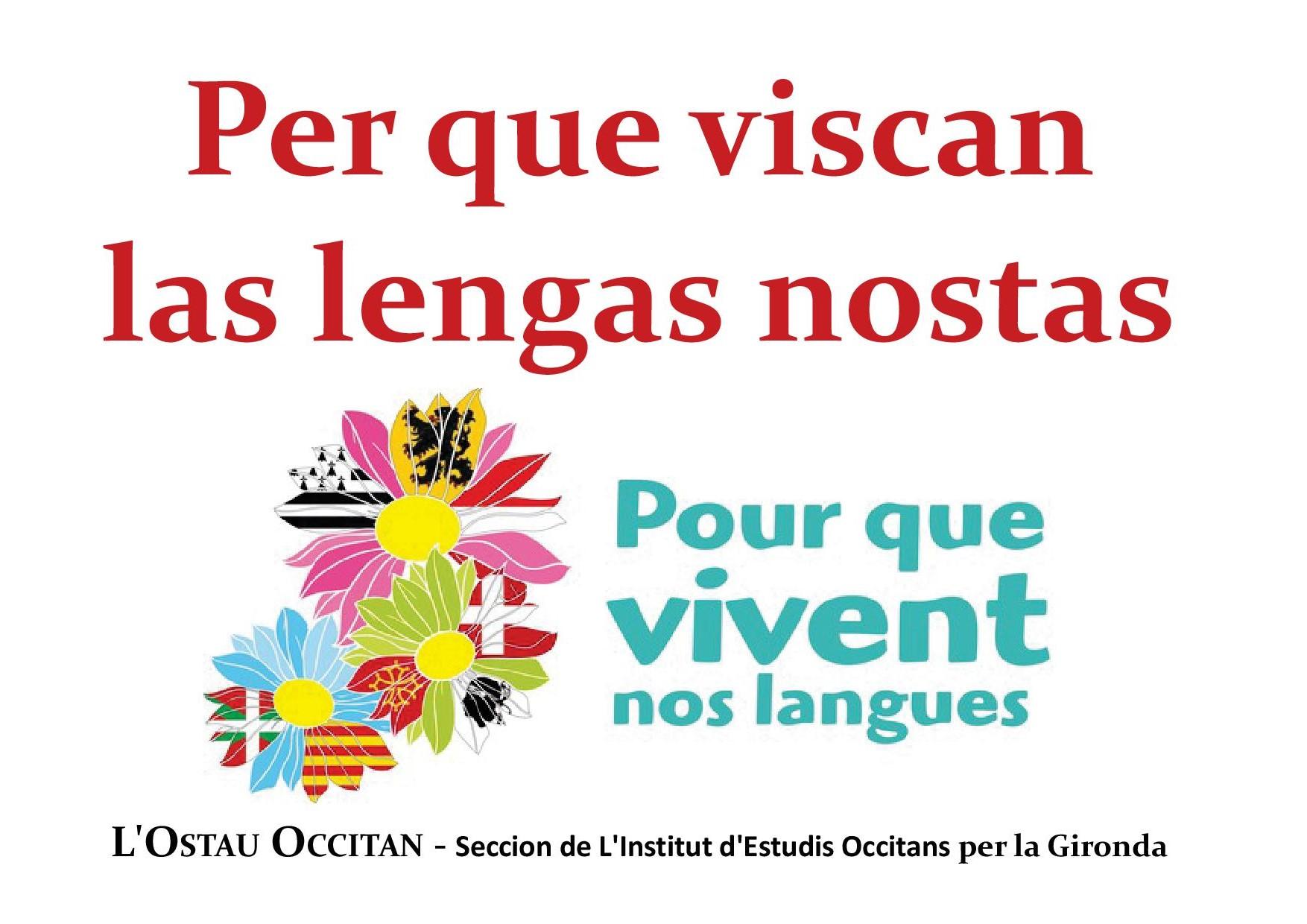 rassemblement à Bordeaux / Bordèu pour que vivent nos langues
