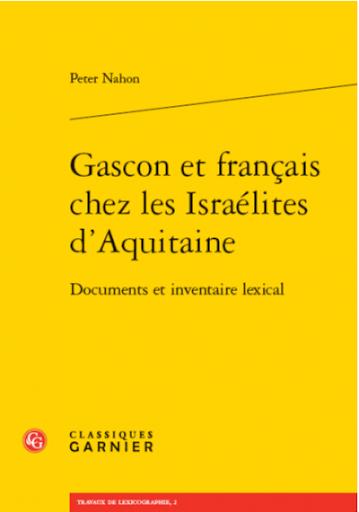 Conférence « Gascon et français chez les Israélites d'Aquitaine »